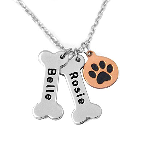 Personalized Dog Necklace,Customize pet names collor,Dog ...
