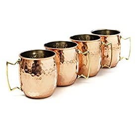 Moscow Mule Hammered Copper 16 Ounce Drinking Mug