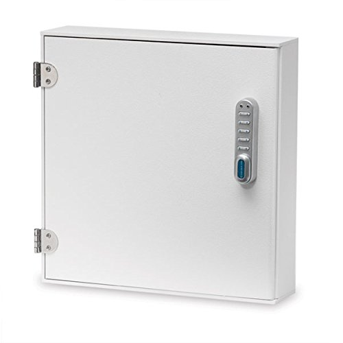 Medication Cabinet with E-Lock Large 16''W x 4''D x 16.25''H