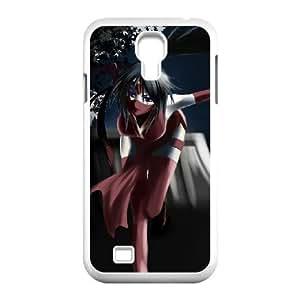 samsung s4 9500 phone case White League of Legends Akali LGF5524480