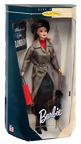 Barbie City Seasons Collector Edition Autumn in London -- 1999 Autumn Collection by MAttel (