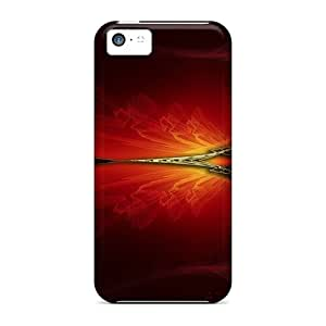 5c Scratch-proof Protection Cases Covers For Iphone/ Hot Abstract Outer Space Stars Mark Pearl Phone Cases
