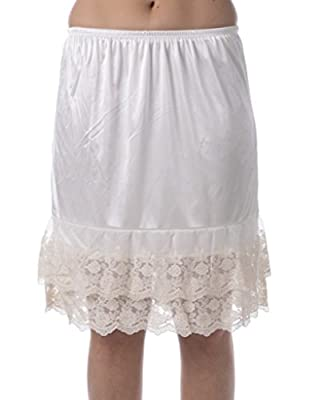 Layers and Lace Half Slip Lace Skirt Extender