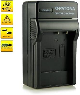 Cargador de batería Micro USB para sanyo xacti vpc-c40//vpc-ca6 Active