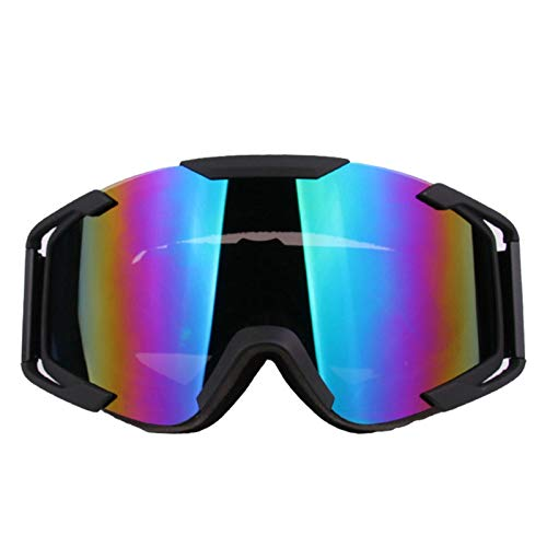 Polarized Mirror View Rear (Aooaz Outdoor Sports Motorcycle Goggles Tactical Glasses Multicolor)