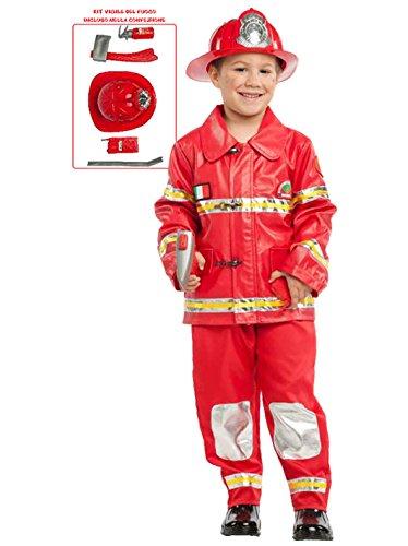 Costume Vigile del Fuoco Baby