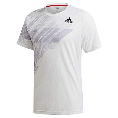 adidas Mens Freelift Printed Tee Heat.rdy