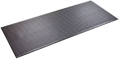 SuperMats Heavy Duty Equipment Mat 30GS Made in U.S.A. for Treadmills Ellipticals Rowing Machines Recumbent Bikes and Exercise Equipment (2.5-Feet x 6-Feet) (30″ x 72″) (76.20 cm x 182.88 cm)