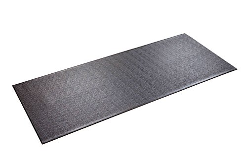 SuperMats Heavy Duty Equipment Mat 30GS Made in U.S.A. for Treadmills Ellipticals Rowing Machines Recumbent Bikes and Exercise Equipment  (2.5-Feet x 6-Feet) (30' x 72') (76.20 cm x 182.88 cm)