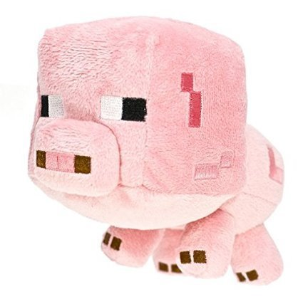 Amazon Com Minecraft Overworld 7 Inch Baby Pig Toys Games
