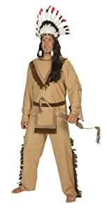 Rubies 1 4434 56   - Traje de indio apache (talla 56)