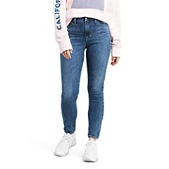 Levi's signature 'lot 700' fits are the ultimate look-amazing jeans, designed to flatter, hold and lift-alll day, every day. The 721 high rise skinny jean has modern pin-up style and elongates your silhouette. Tuck your favorite shirt into th...