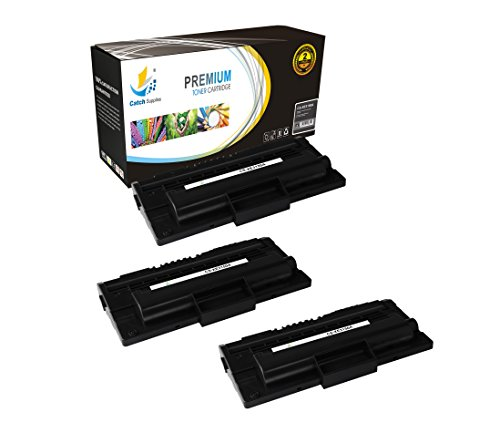 Catch Supplies 109R00746 Xerox 3150 Black Premium 3 Pack Replacement Toner Cartridge also Compatible with Phaser 3150B Series Laser Printers |3,500 Yield|