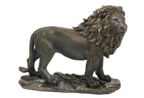 Unicorn Studios WU74800A4 Lion Bronze Sculpture from Unicorn