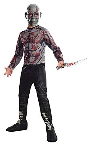 Mens Drax Costume (Drax the Destroyer Child Costume – GOTG 2 – L)