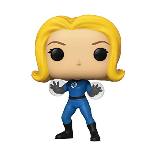 Funko- Pop Marvel Fantastic Four-Invisible Girl Collectible Toy, Multicolor (44986)