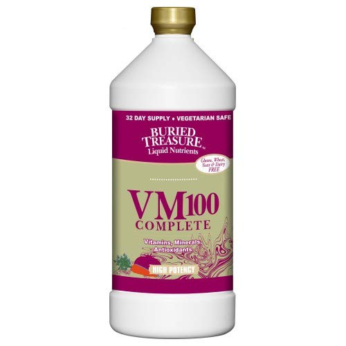 Buried Treasure VM 100 Complete Liquid Vitamin, 32 Ounce - 3 per case.
