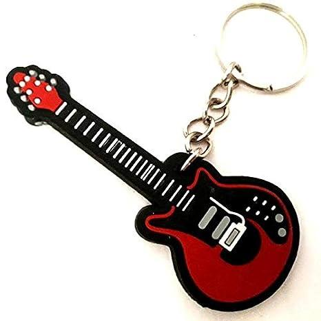 Music Legend Collection - Llavero de goma modelo guitarra ...