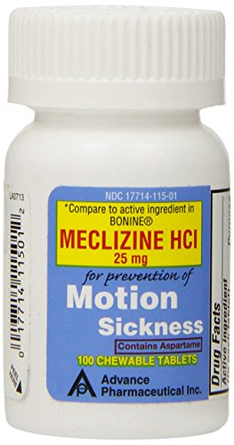 SDA Laboratories Meclizine Chewable Tablets