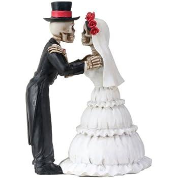 Amazon Com Dod Wedding Couple Skeleton Collectible