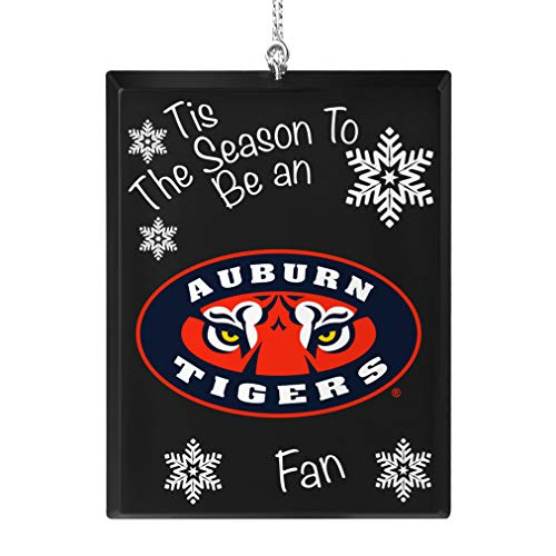 Topperscot Auburn Tigers Official NCAA Tis The Season Holiday Christmas Sign Ornament 675312 ()
