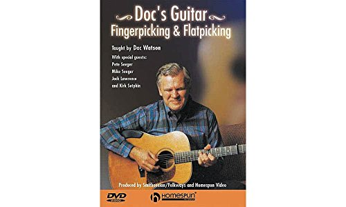Homespun Doc Watson Fingerpicking and Flatpicking (DVD)