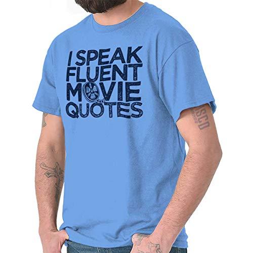 Brisco Brands Speak Fluent Movie Quotes Funny Nerd Geek T Shirt Tee from Brisco Brands