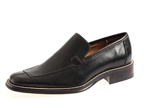 Bottesini Italy Lederhalbschuhe Herrenschuhe Leder Schuhe Business schwarz