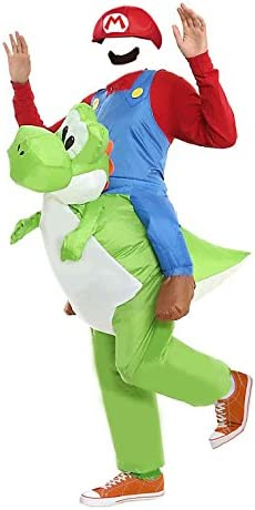 MJPARTY Disfraz hinchable para adulto de Yoshi: Amazon.es ...