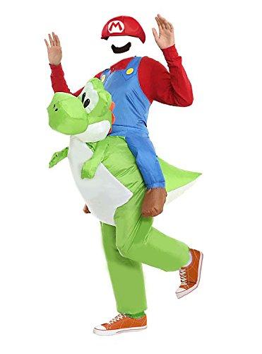 MJPARTY Disfraz hinchable para adulto de Yoshi: Amazon.es ...