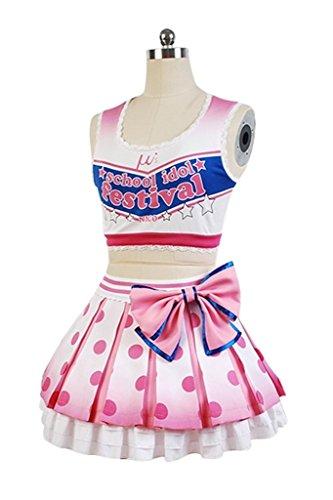 Love Live! Cheerleader Yazawa Nico Costume Uniform Dress Outfit by UU-Style (Image #1)