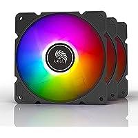 Tianjifeng tf120 Desktop Computer Chassis Fan ARGB Motherboard Shenguang synchronous 5V Magic 12cm Fan
