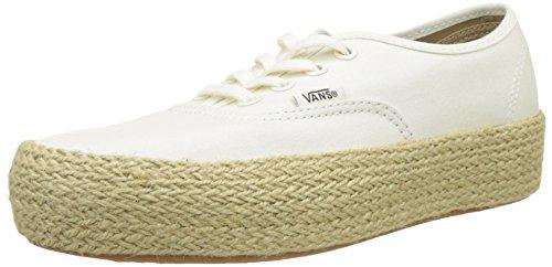 ESP Marshmallow Vans Authentic Damen Sneaker Platform Fs8 Elfenbein txSBwq4