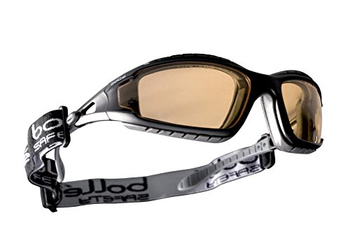 Bollé - Tracker II - Lunettes de Sécurité - Clear Lens Yellow Lens