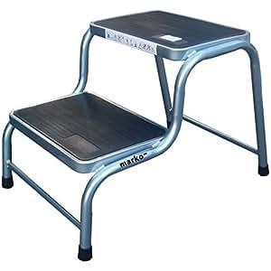 Doble paso Caravan acero taburete almohadillas de goma antideslizantes para