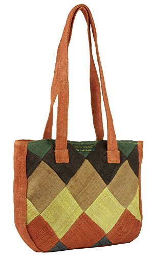 Earth-Divas-MH-157-Adorable-Hemp-Made-High-Quality-Zipper-Patchworked-Handbag