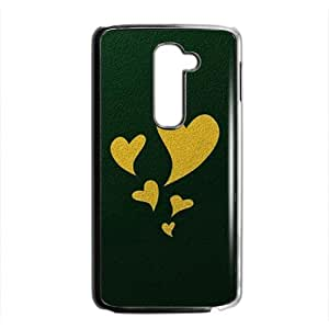 Creative Green Heart Cell Phone Case For LG G2 by mcsharksby Maris's Diary