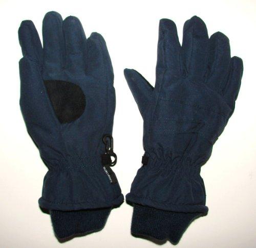 Döll Klimatherm Handschuhe Skihandschuhe Jungen Mädchen Unisex (5 d.blau) für Kinder von 9-10 Jahren