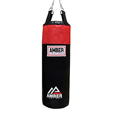 Amber Fight Gear Toughtek Heavy bag Filled, 50 lb