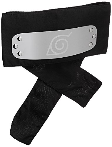 - Great Eastern Naruto Shippuden GE-8676 Leaf Village Headband - Black