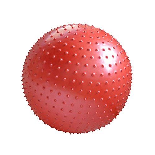 Épaississent yoga balle boule de massage Keep Fit For enfant et adulte-rouge