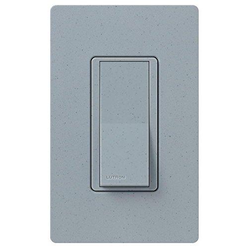 Single-Pole Lutron Claro On//Off Switch 15-Amp CA-1PS-IV Ivory
