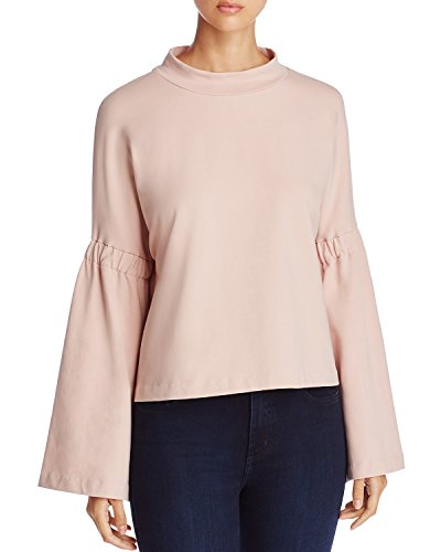 Two by Vince Camuto Bell Sleeve Women Large Crewneck Sweater Pink ()