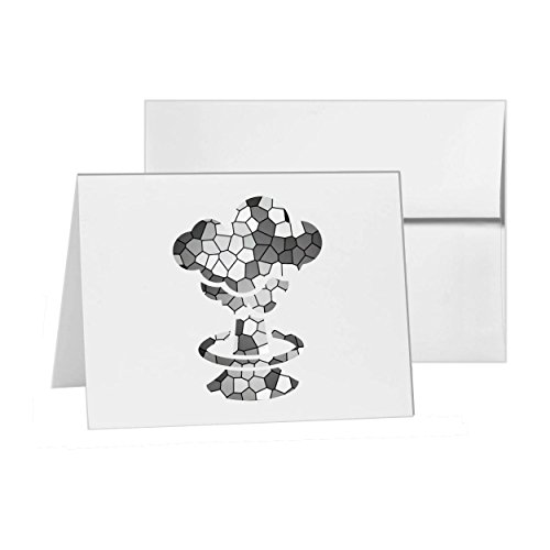 Mushroom Cloud Atomic Bomb Explode, Blank Card Invitation Pack, 15 cards at 4x6, Blank with White Envelopes Style 13950