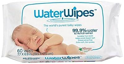 WaterWipes Chemical-Free Wipes