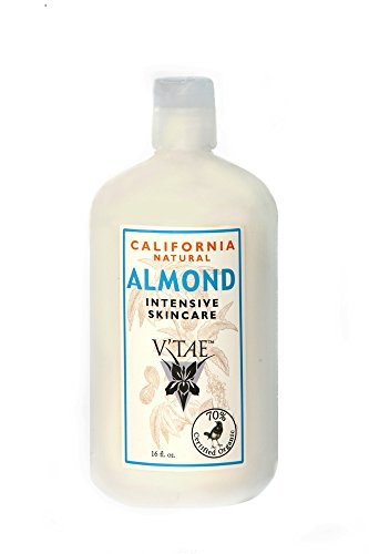 California Natural Almond Intensive Skincare V'TAE Parfum and Body Care 16 oz Lotion
