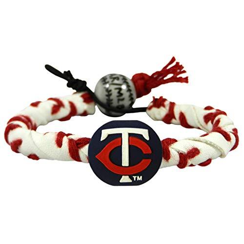 Bracelet Gamewear (GameWear Minnesota Twins Classic Frozen Rope Baseball Bracelet)