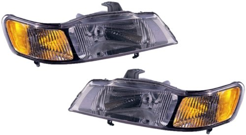 Honda Headlight Adjustment - Honda Odyssey Replacement Headlight Unit - 1-Pair