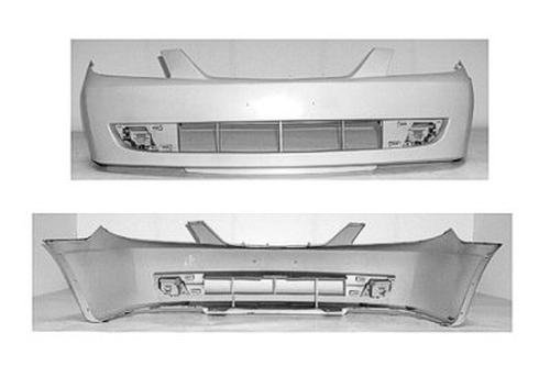 CPP Primed Front Bumper Cover Replacement for 2001-2003 Mazda Protege Sedan