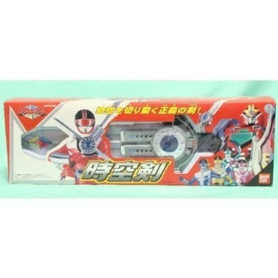 Mirai Sentai Time Ranger space-time sword